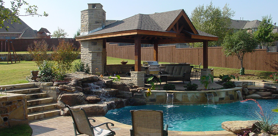 Outdoor Living - WaterscapesWaterscapes on Backyard Living Area id=81762