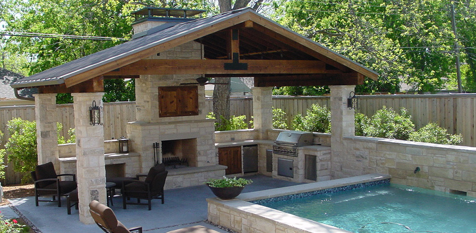 Outdoor Living - WaterscapesWaterscapes on Backyard Living Area id=27904